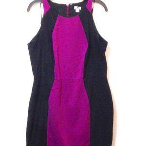 Worthington Color Block Sleeveless Dress